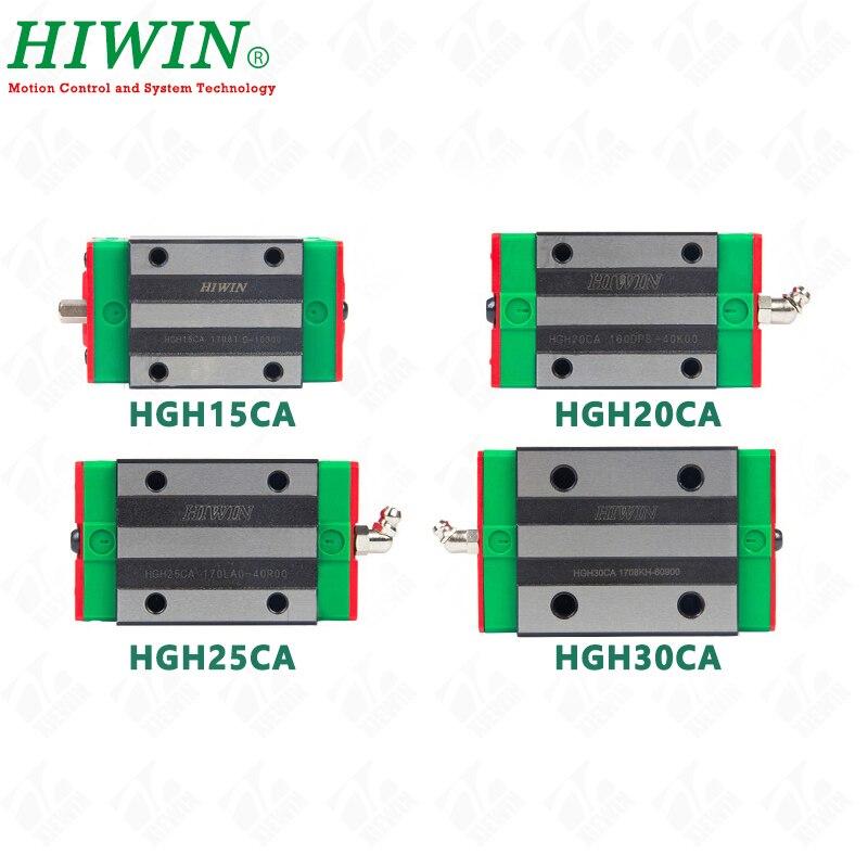 Freies Verschiffen HIWIN HGH15CA HGH20CA HGH25CA HGH30CA Original linear guide blöcke wagen für HIWIN linear Schienen