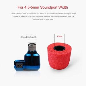 Image 2 - TRN 3 пары (6 шт.) S/M/L 4,5 мм T400 пенопластовые наушники с шумоизоляцией для наушников вкладышей, амбушюры с розничной упаковкой
