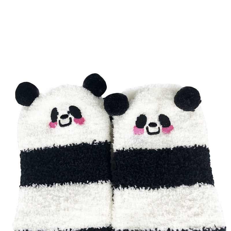 ABDL invierno cálida lana color Coral rodilla calcetines para bebé y niñas medias de animales a rayas Kawaii calcetines largos hasta el muslo DLG Daddy Dom Calcetines