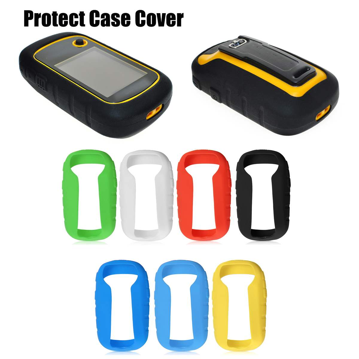 Outdoor Hiking <font><b>Handheld</b></font> <font><b>GPS</b></font> Navigator Accessories Silicone Protect Case Cover Protector for <font><b>Garmin</b></font> eTrex 10 20 30 10x 20x 30x image