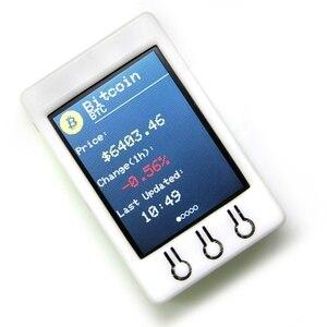 Image 2 - Ttgo T Watcher Btc Ticker Esp32 2.2 inç 320X240 Tft ekran modülü için Fit Arduino Bitcoin fiyat programı 4Mb Spi flaş yeni