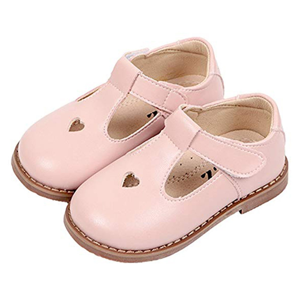 WISSTT 2018 Spring Girl Fashion Genuine Leather Flat Children Party Mary  Jane Baby Toddler Brand Shoe 07975adae12f