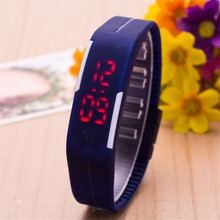 Children Wrist Watch Fashion Student Silica Gel Electronic Sports Watch Jelly Color Kids Watches Kol Saati Montre Enfant New