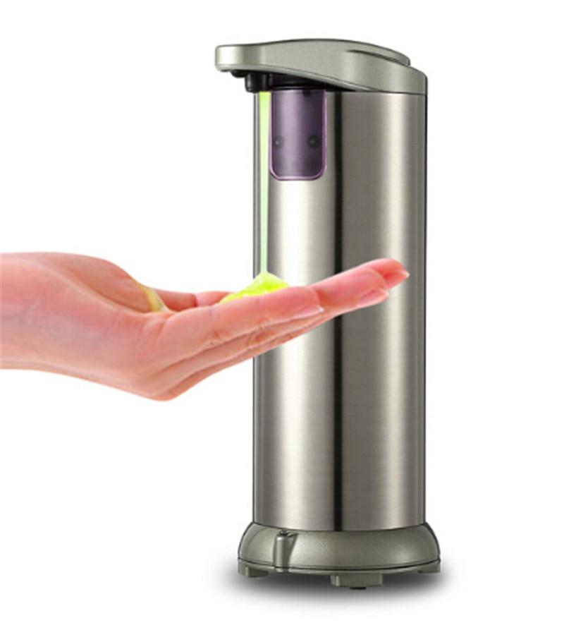 250ML Automatic Liquid Soap Dispenser Kitchen Bathroom Hotel ...
