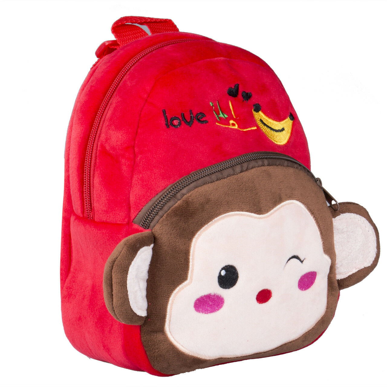 Children Backpacks Kindergarten Schoolbag Animal 3D Cartoon Plush Kids Girls Boy