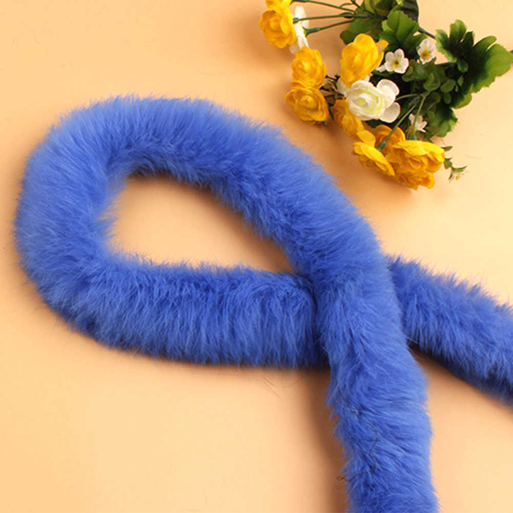 Kunstmatige Konijnenbont Lint Tapes Harige Pluizige Bekleding Trimmen DIY Home Decor Naaien Kostuum Ambachten