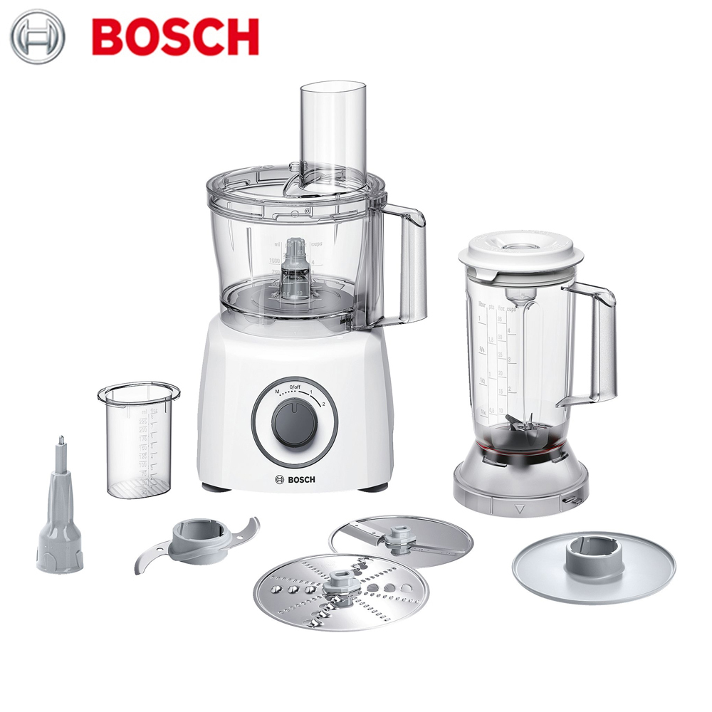 Фото - Food Processors Bosch MCM3200W home kitchen appliances machine tools automatic cooking assistant stainless steel spiral coil reverse screw knife pendulum kitchen cooking tools