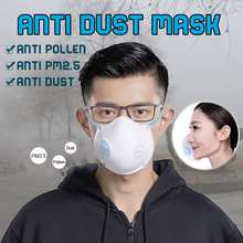 1/3/5 pcs One Time Anti Dust Mask Anti-Pollution Respirator PM2.5 Filter Protective Air Breathing Purifier Anti-pollution Mask