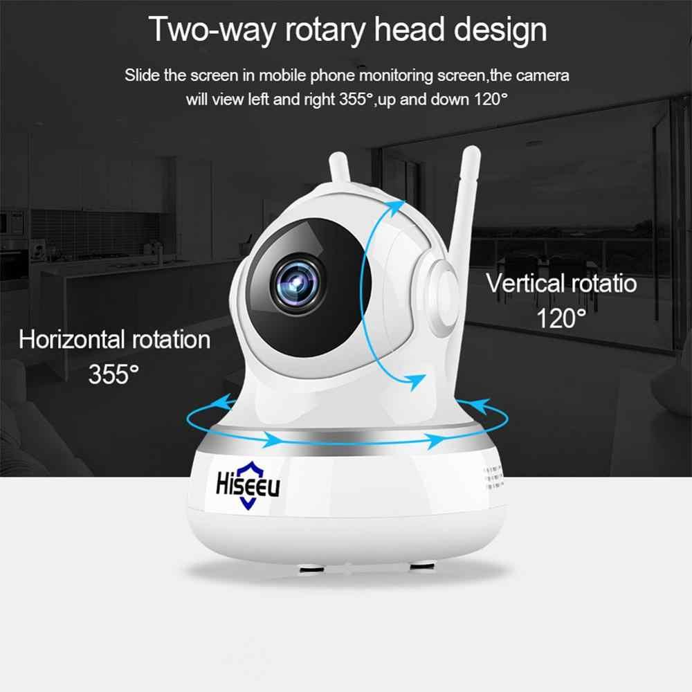 Hiseeu 1080P Wifi ip-камера беспроводная домашняя Wi-Fi камера системы безопасности Мини P2P камера IR ночного видения двухстороннее аудио HD 2MP CCTV камера