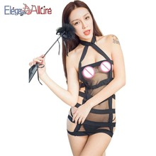 E&A Female Erotic Lingerie Porn Sexy Costumes Women Fashion Babydolls Net Bodysuits Nightdress Nightwear Lady Intimates