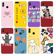 Silicon Cute Case Huawei Honor 10 Lite 7c Pro 7x 8x For p20 lite Nova 2s 3 3i Back Cover Soft TPU 3D Dog Animal