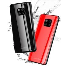 Glass Case For Huawei Mate 20 Pro Lite Luxury Protective Back Cover For P20 Pro Lite Nova3 3i 3E Y5 6 7 Prime 2018