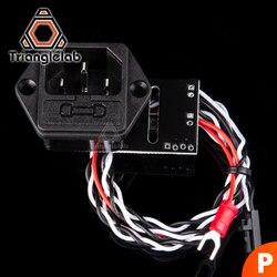 Trianglelab power panic para prusa i3 mk3 kit impressora 3d suporte unidade de alimentação psu