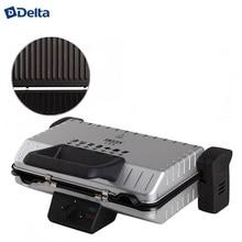 Электрический пресс-гриль DELTA LUX  DL-050S, съемные панели с антипригарным покрытием