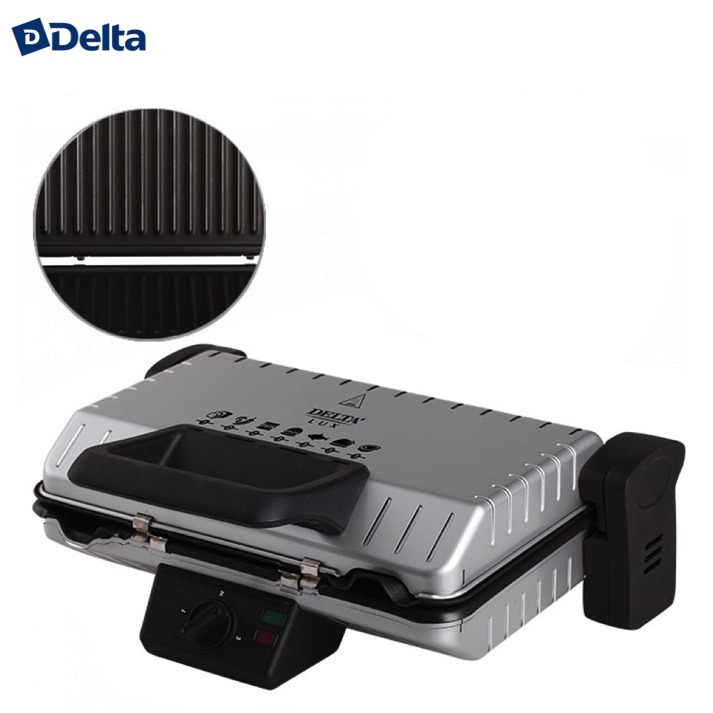 цена на Electric Grills & Electric Griddles delta 0R-00004748 Cooking Appliances Electric Press Grill DL-050S kitchen