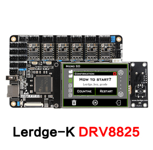 """Image 3 - 3DSWAY 3D Printer Motherboard LERDGE K ARM 32Bit Controller Board  with 3.5"""" Touch Screen DIY Parts WIFI Control Mainboard"""