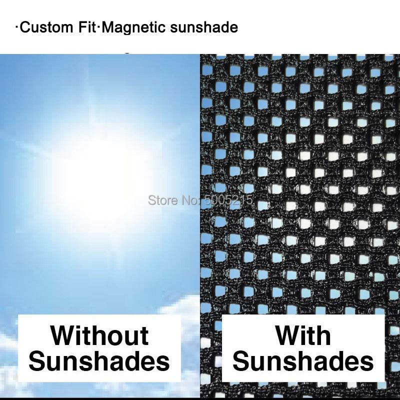 SW Front Windscreen Foil Foldable UV Laser Sun Shade Block Screen Peugeot 306