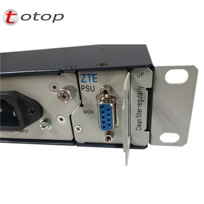 ZTE PSU-AC 30A Redresseur avec 2 pièces module changement 220 V AC 48 V DC pour C300/C320 OLT, 100% Nouveau et Original