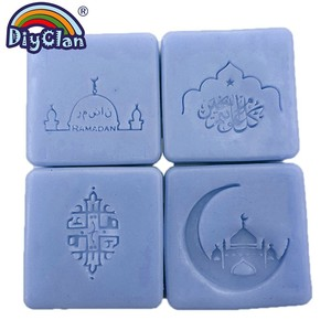 Image 1 - Islam Ramadan Soap Stamp Diy Handmade Muslim Arabic Building Transparent Soap Stamp For Ramazan Creative Gift Making