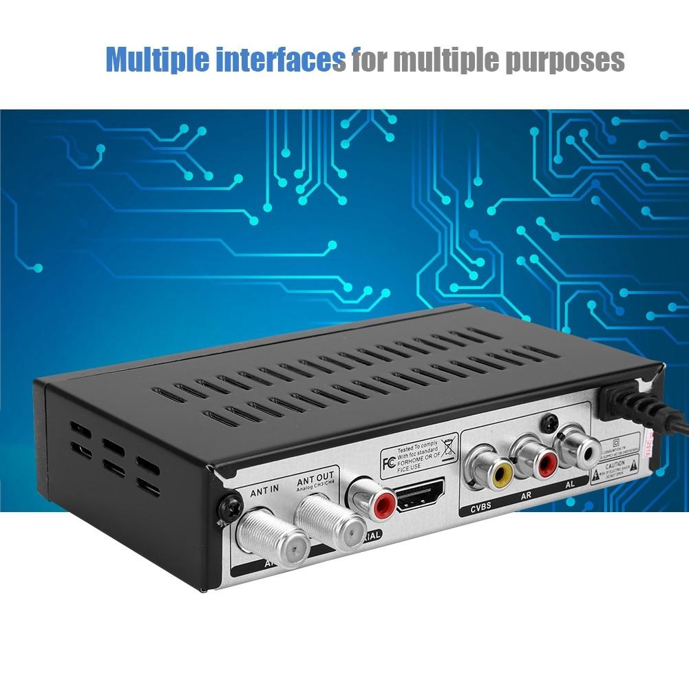 brand new soonhua HD Digital Set Top Box TV Receiver Atsc Tv Set Top Boxes TV Receivers electric accessories