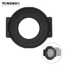 YONGNUO Professional 150mm Square Filter Holder with Adapter Ring Kit 360° Rotation Aviation Aluminum Alloy for YN14mm F2.8 Lens(China)