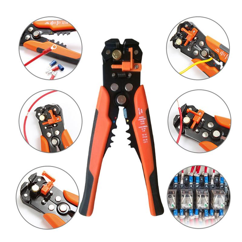 5-In-1 Automatic Wire Stripper Crimper 400 Pieces Of Connectors Wire Terminal Set5-In-1 Automatic Wire Stripper Crimper 400 Pieces Of Connectors Wire Terminal Set