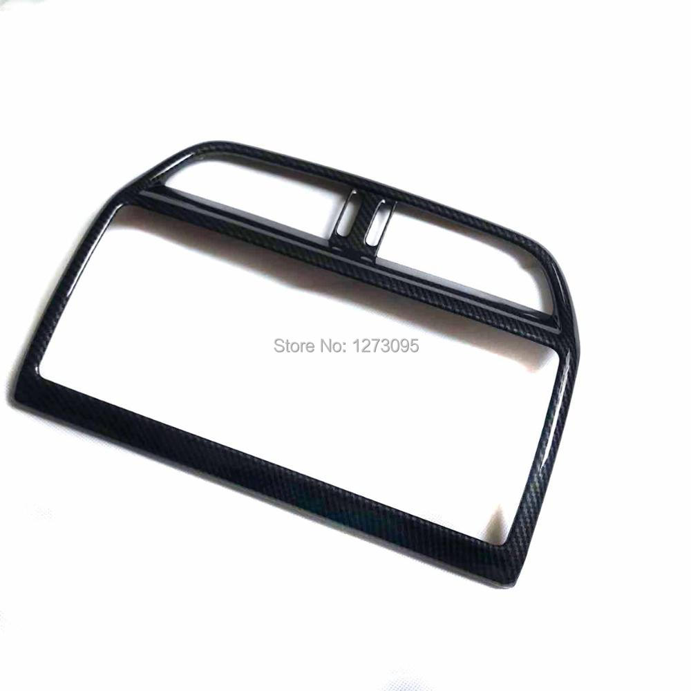 For 2017 2018 Jaguar XE X760 ABS Center Console Control Panel Navigation Screen Panel Frame Cover Trim Car Styling Accessory