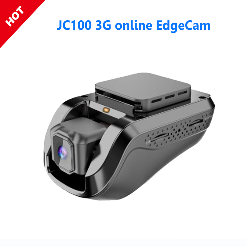 JC100 1080P 3G Smart Car Edgecam With Android 5.1 System Conclude GPS Tracking Live Video Recorder Monitored By Free PC & Mobile