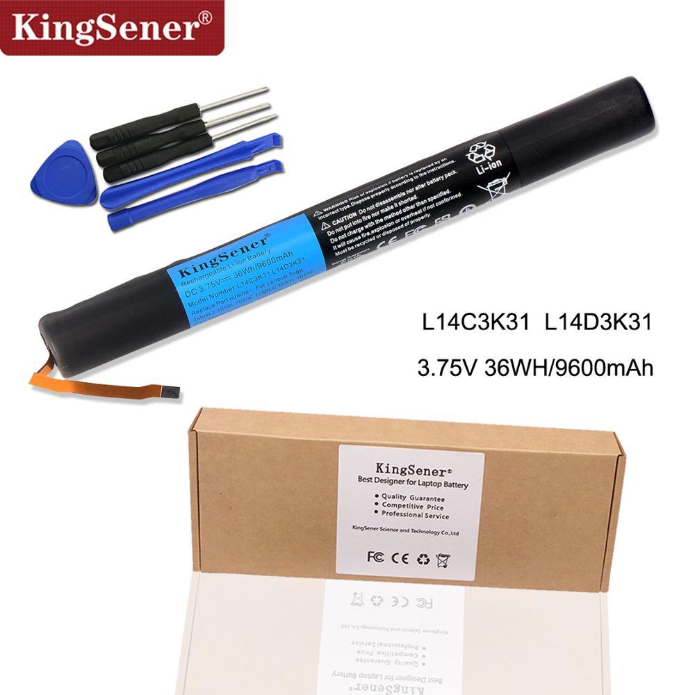KingSener Nouveau L14C3K31 Batterie pour Lenovo Yoga Tablet 2 1050L 1050F 2-1050F 2-1051F 2-1050L 2-1050LC 2-1051L Yt2-1050 L14D3K31