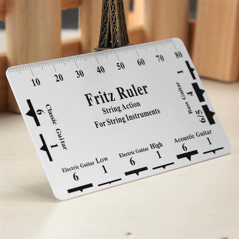 Fritz линейка для гитары струнная измерительная линейка струна тон линейка карта Luther инструмент для струнных инструментов 2019|Детали и аксессуары для гитар|   | АлиЭкспресс