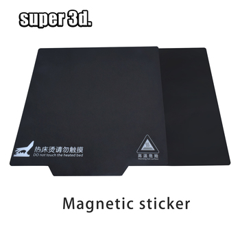 flexbed new upgrade 320 310mm flex spring steel sheet applied pei build surface magnetic base for 3d printer cr 10s pro hot bed 3D Printer Parts Magnetic Print Bed Tape 200/235/310mm Heatbed Sticker Hot Bed Build Surface Flex Plate for creality ender 3 5