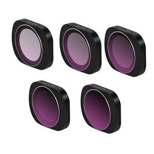 Image 5 - Mcuv cpl nd4 nd8 nd16 nd32 nd64 ND PL câmera lente filtro liga de alumínio adsorção magnética para dji osmo bolso cardan handheld