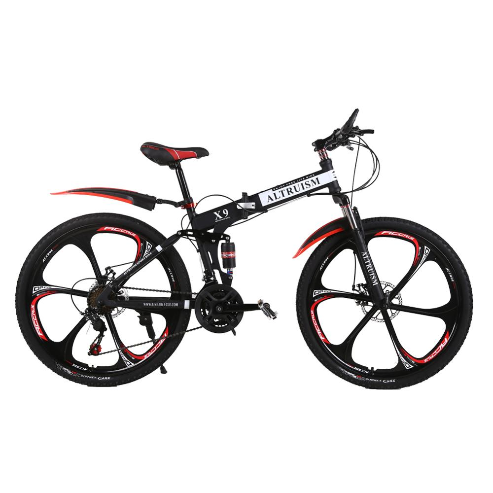 Altruism 26 inch Mountain Bike For Men And Women With Front And Rear Disc Brake