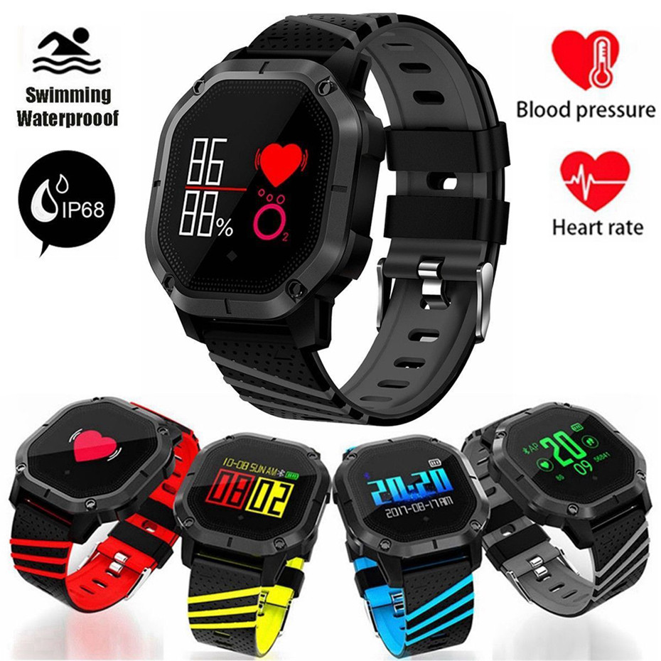Sports Bracelet Watches Blood Pressure Monitor Smart Watch Men Sedentary Reminder for Android IOS Watch Digital Women bangwei men women smart watch information vibration reminder sedentary reminder music player fashion fitness smart digital watch