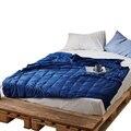 Высокое качество тяжелое одеяло Гравитация одеяло 100% хлопок декомпрессионное одеяло помощь для сна давление одеяло бессонница Гравитация