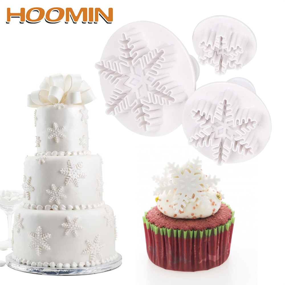 Other Baking Accessories Stainless Steel Snowflake Cookie Molds Diy Fondant Chocolate Cake Decor Pz Orders Are Welcome.