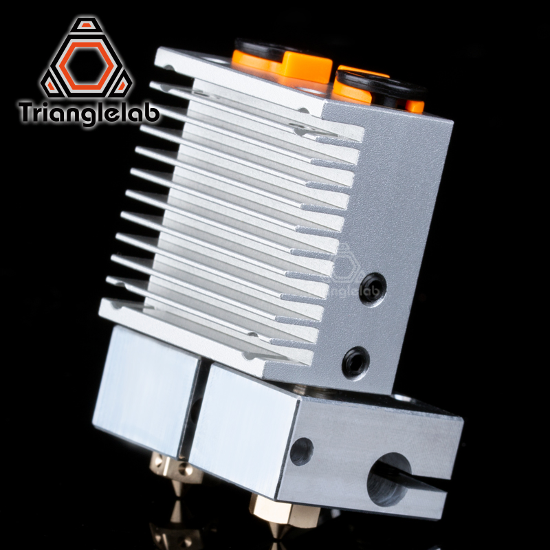 trianglelab Multi Extrusion Dual Extrusion cooling Chimera 2 IN 2 OUT for 3D printer For E3D hotend Upgrade the accessories in 3D Printer Parts Accessories from Computer Office