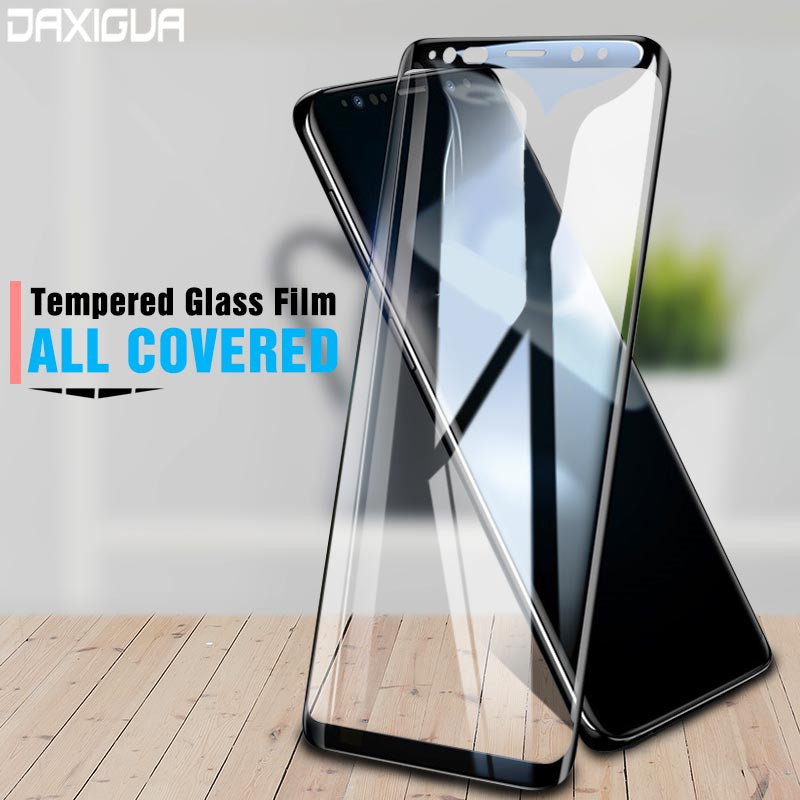 Full Curved Protecting Glass For Samsung Galaxy Observe eight 9 S8 S9 Plus Display screen Protector For Samsung A6 A8 2018 Tempered Glass Flim