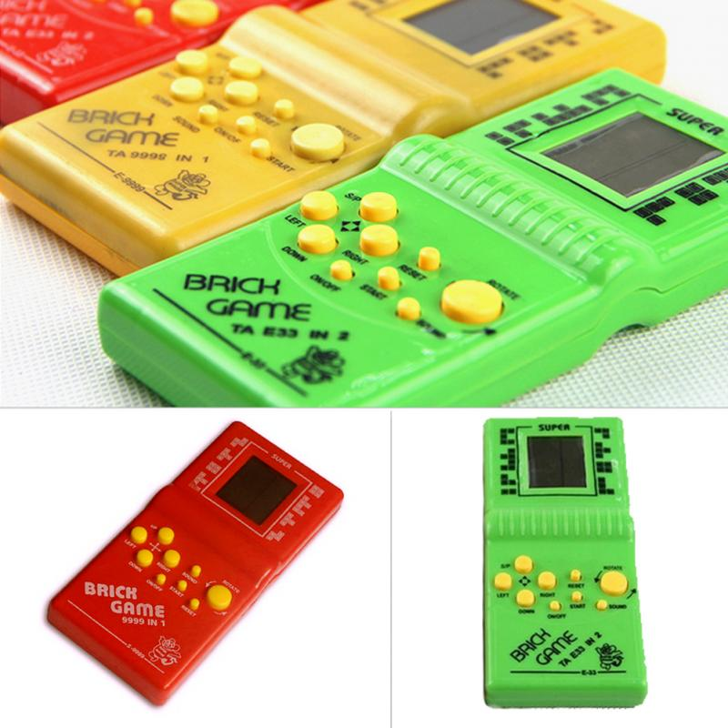 Mini Toys Kids Game Machine Classical Tetris Brick Game Handheld Game Machine For Children Best Gift Fancy Toy