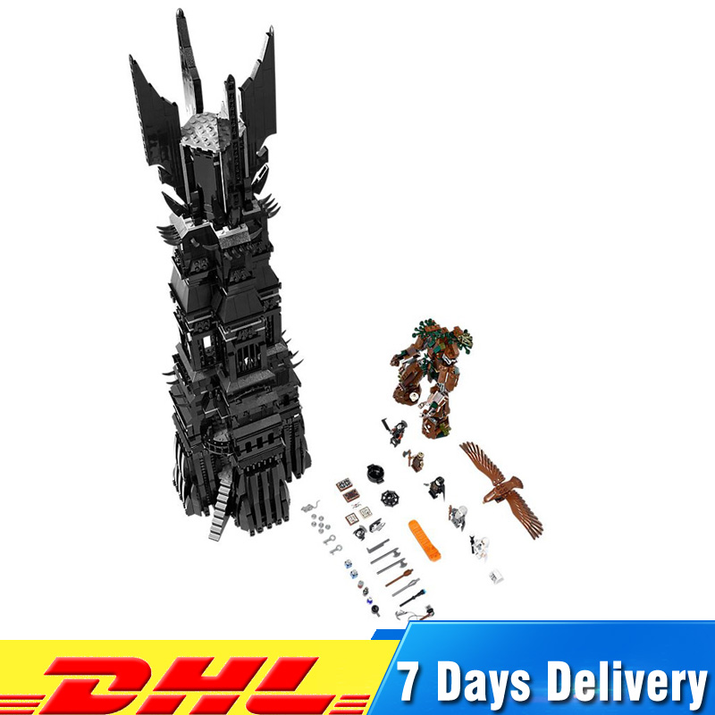 IN Stock Lepin 16010 2430Pcs Lord of The Rings The Tower of Orthanc Model Building Compatible LegoINGlys 10237 Blocks Bricks Toy