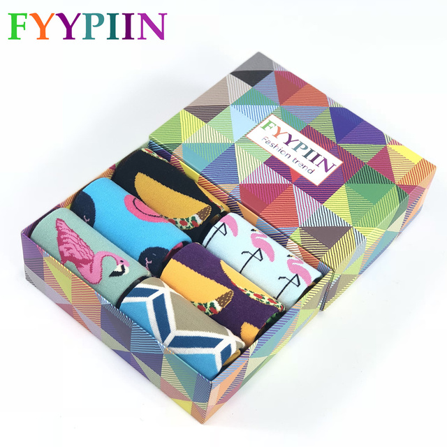 2018 Rushed Gift Box Novelty Mens Funny Puzzle Pattern Combed