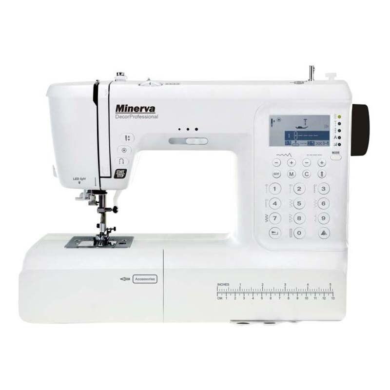 Sewing machine Minerva DecorProfessional sewing machine minerva m832b