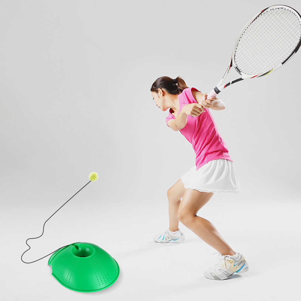 Tennis Trainer Tennis Practice Baseboard Training Tool Tennis Exercise Rebound Ball Sports Tennis Trainer with String
