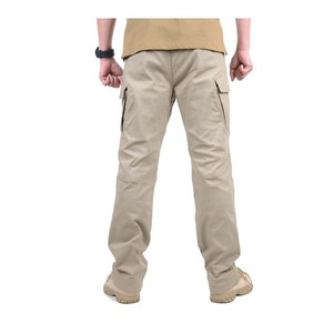 Image 4 - Multi Pocket Urban ยุทธวิธีทหารกางเกงชายกลางแจ้งปีนเขาการฝึกอบรมสวมใส่ Slim ตรงแฟนกองทัพ Cargo กางเกง