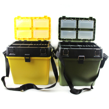 Large capacity Fishing Tackle Boxes Carp Box Accessories Lightweight  Portable Bait Gear Storage