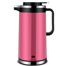 цена на 1000W High Powe1.8L Insulation Electric Kettle Stainless Steel Electric Kettle Double Kettle Electric Tea Kettle Featuring Gift