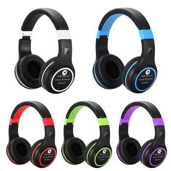 BS-440 Bluetooth Headphones Foldable Headset w/Mic TF Card Slot FM Radio