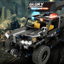 464 pcs 2.4G RC SWAT robot car DIY Building Blocks Sets wireless Remote control car Assemble Blocks Bricks model toys Boy gift
