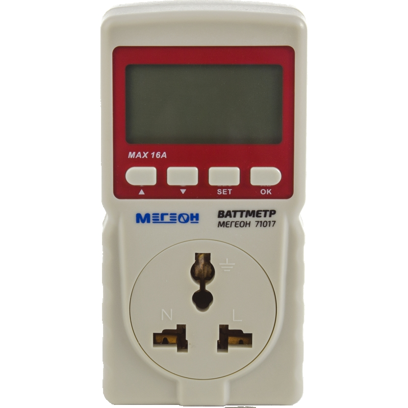 Wattmeter MEGEON 71017 adriatica 3162 1241qz