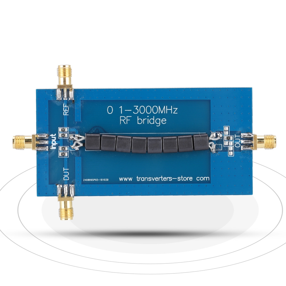 RF SWR Reflection Bridge 0.1-3000 MHZ Standing Wave Bridge Standing Wave Ratio Bridge With Long Service Life
